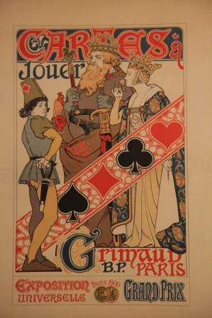 affiche Grimaud expostion universelle 1900 collection CR